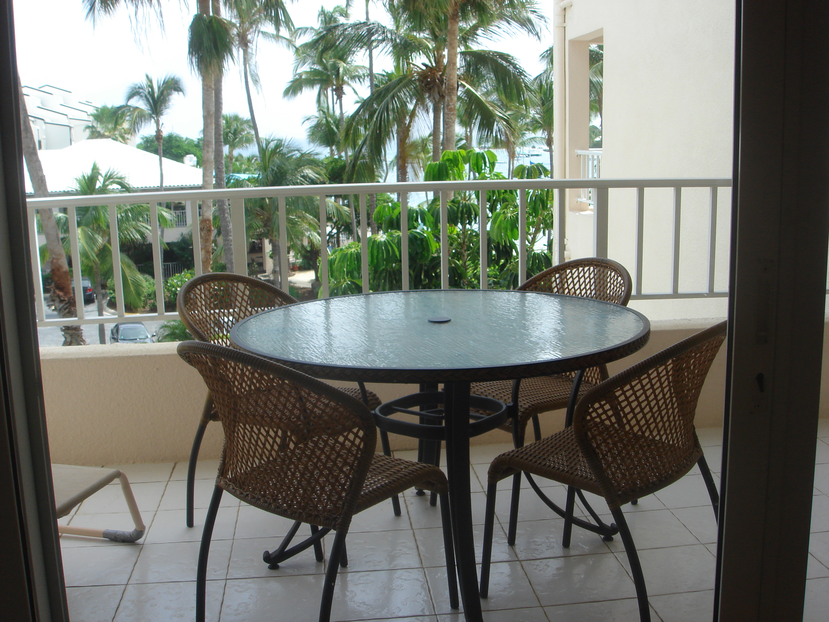 condo outdoor furniture dining table balcony. The Bedroom Has A Comfortable King-size Bed, 32\ Condo Outdoor Furniture Dining Table Balcony